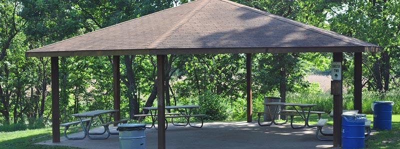 Lions Park Picnic Shelters