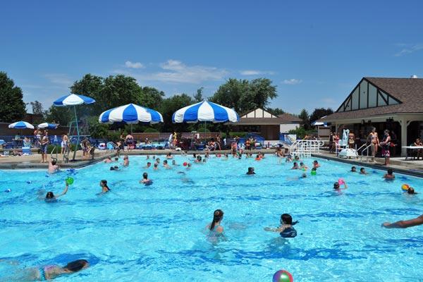 Community Pool Is Open