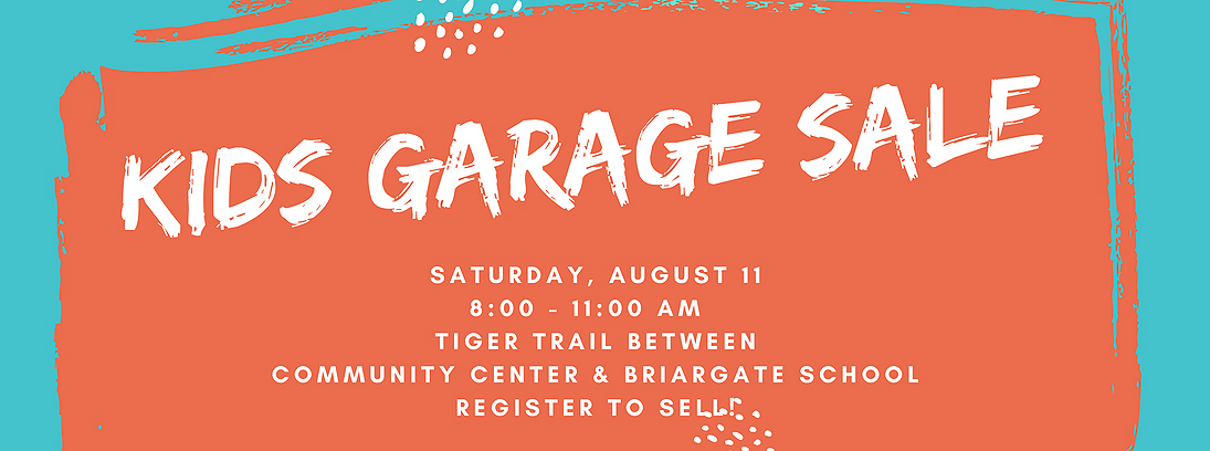 e398c2d68 Is kid clutter dominating your domain? Would your children like to make  some summer fun money? The Cary Park District Kids Garage Sale ...